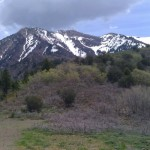 Scenery from Utah Mountains
